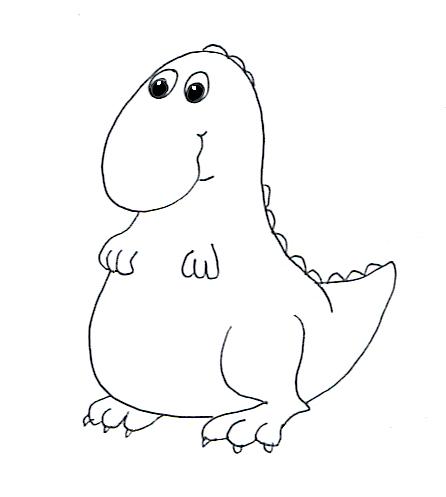 446x497 Small Dinosaur Clipart (60+)