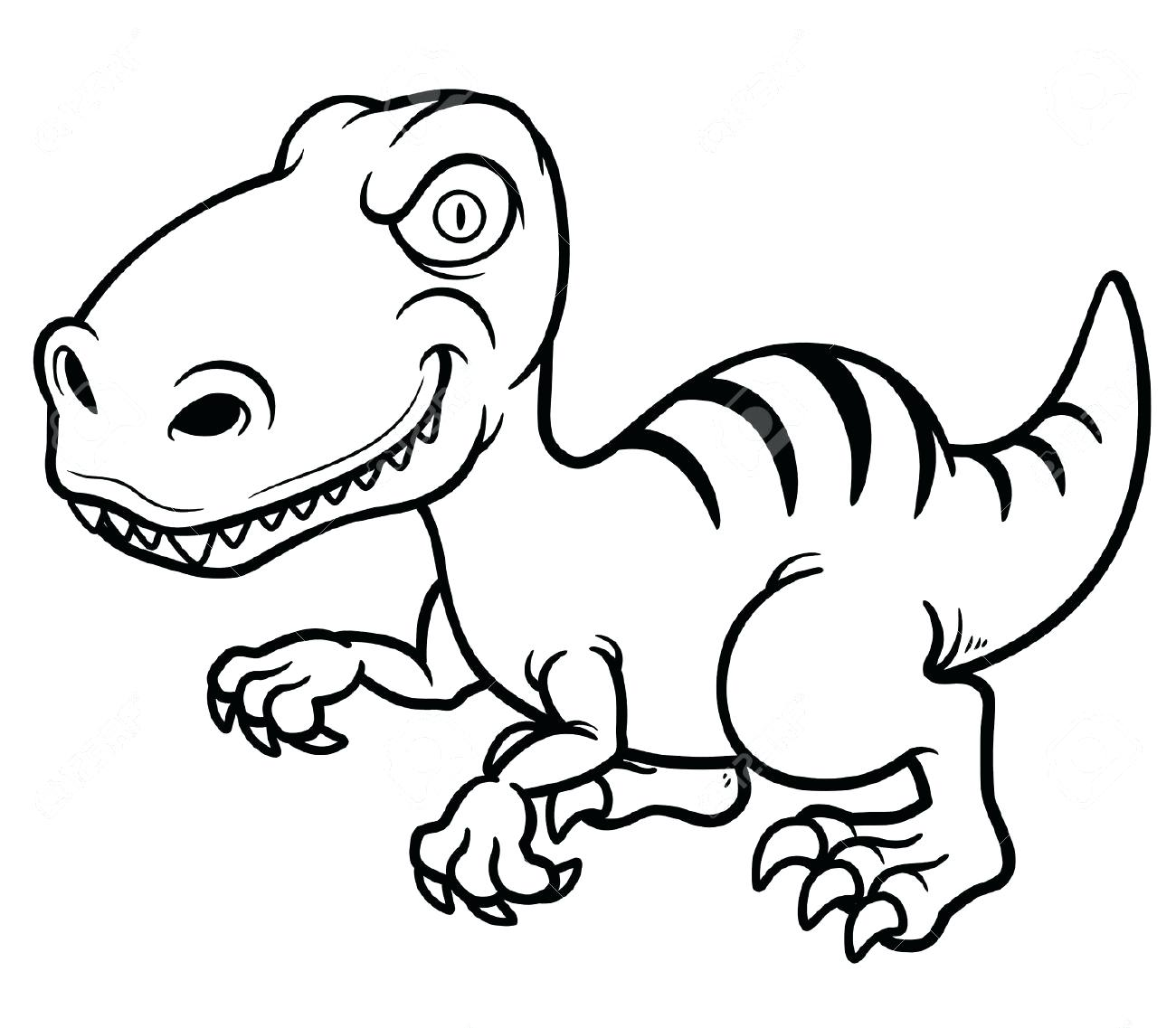 1300x1137 Coloring Cartoon Dinosaur Coloring Pages Drawing Vector