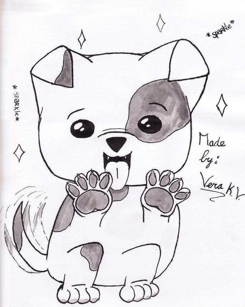 800x1000 Cute Dog By Kamichamavera
