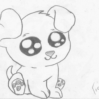 320x320 Tag For Cute Puppies Drawing Images Puppy Line Art By Ihartwaflz
