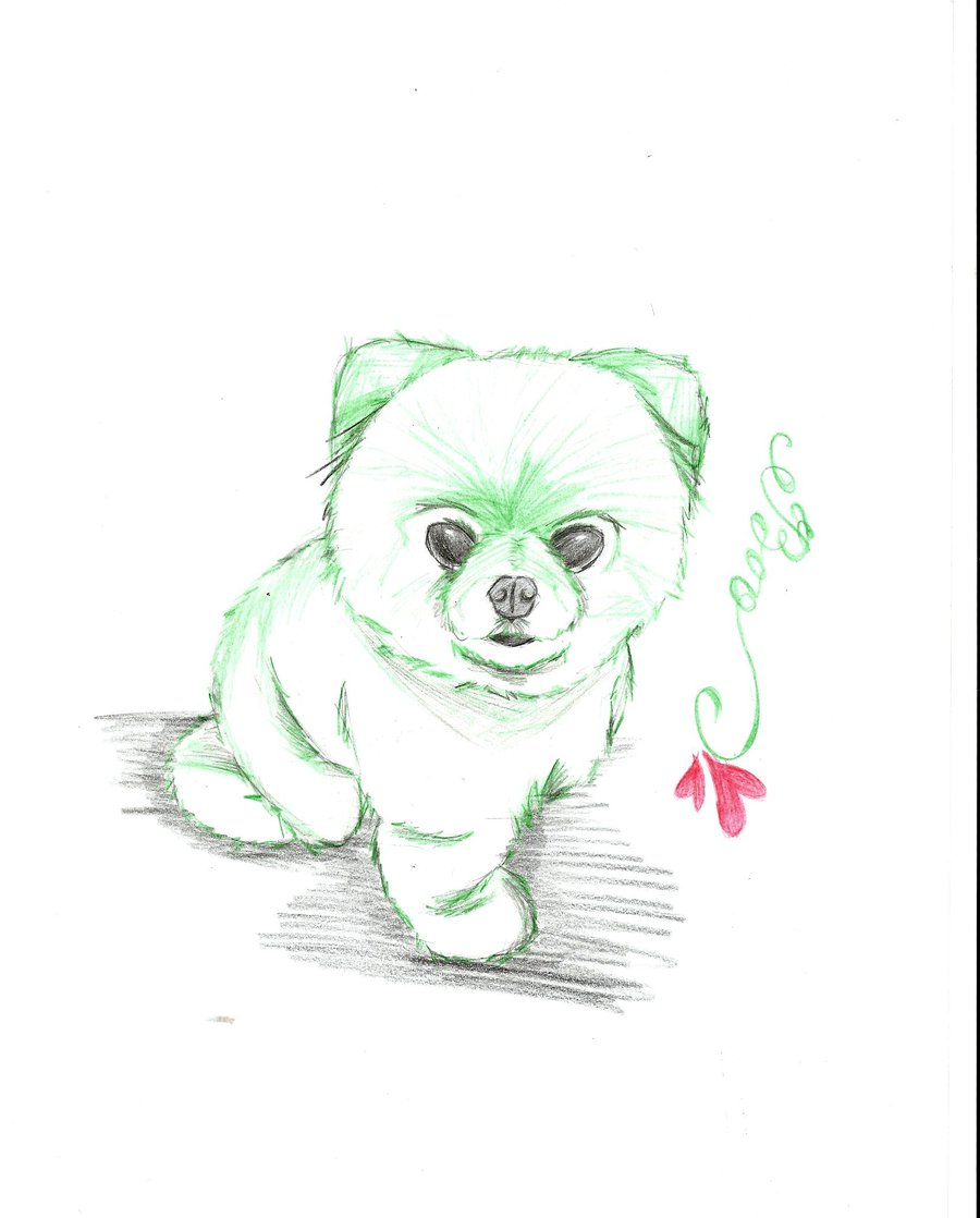 Simple Moving Image Anime Adorable Dog - cute-dog-anime-drawing-45  Gallery_92237  .jpg