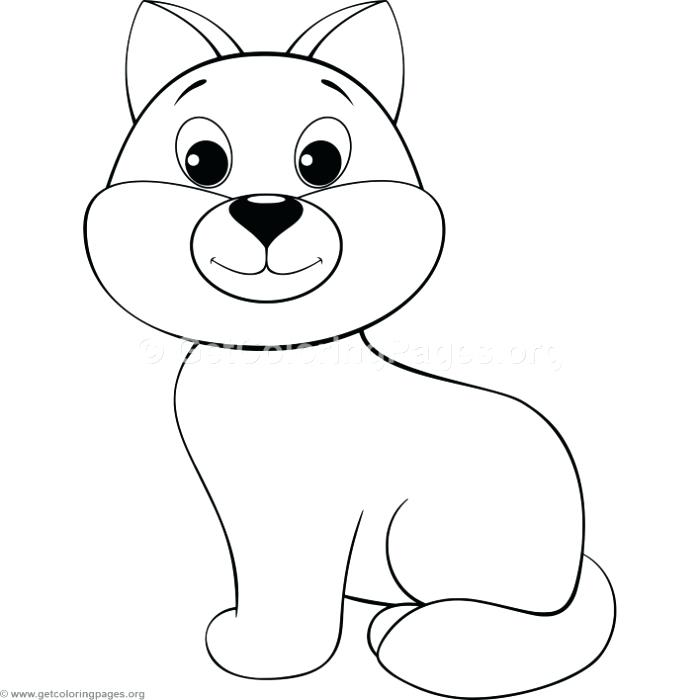 cute cartoon dog coloring pages - photo#20