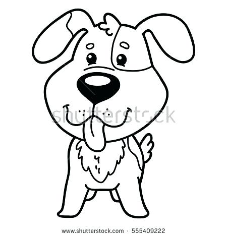 450x470 Cartoon Dog Coloring Pages Of Baby Dogs Cute