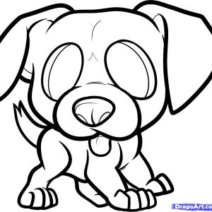 300x300 Adult Easy Puppy Drawing Easy Puppy Drawings. Easy Puppy Dog