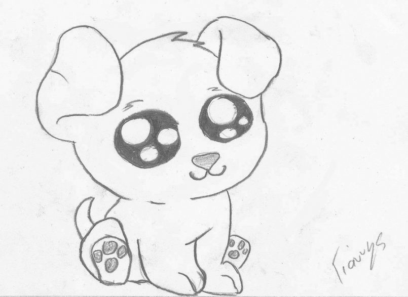 Cute Dog Drawing Step By Step At Getdrawings Com Free For Personal