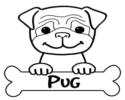 400x322 Cute Dog Face Coloring Page Image Clipart Images