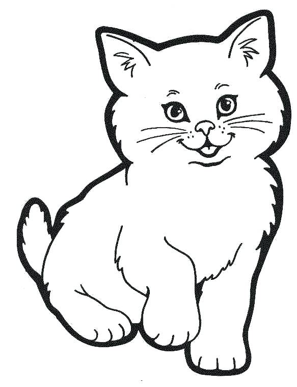 583x758 Dog And Cat Pictures To Color Dog And Cat Coloring Pages Charming
