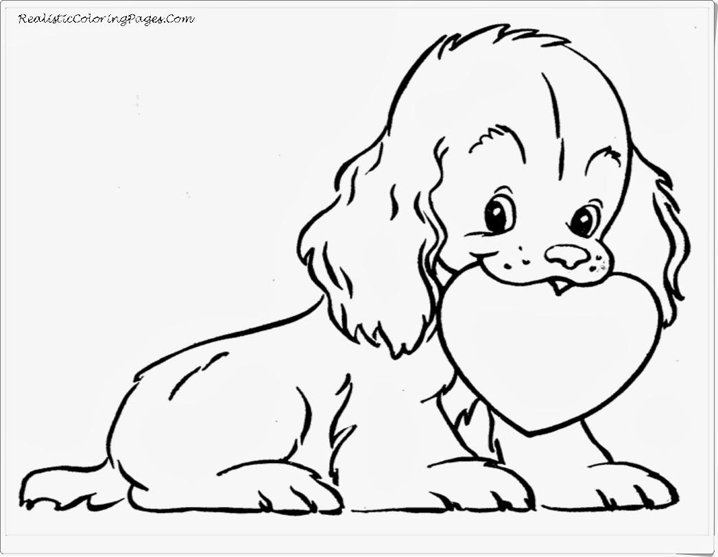 1047x812 Big Cute Dog Coloring