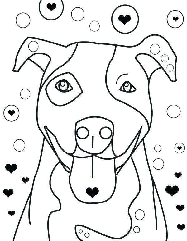 600x776 Pitbull Coloring Page Coloring Pages Is Falling In Love Coloring