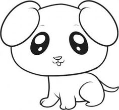 236x219 Plush Design Draw Cute Puppy Learn To A Simple Cartoon Dog In This