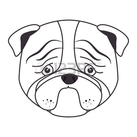 450x450 Cartoon Cute Puppy Hand Draw Vector Illustration Eps 10 Royalty