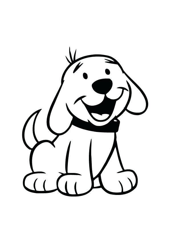 600x800 Coloring Page Of Dog Dog Face Coloring Pages Cute For Preschool