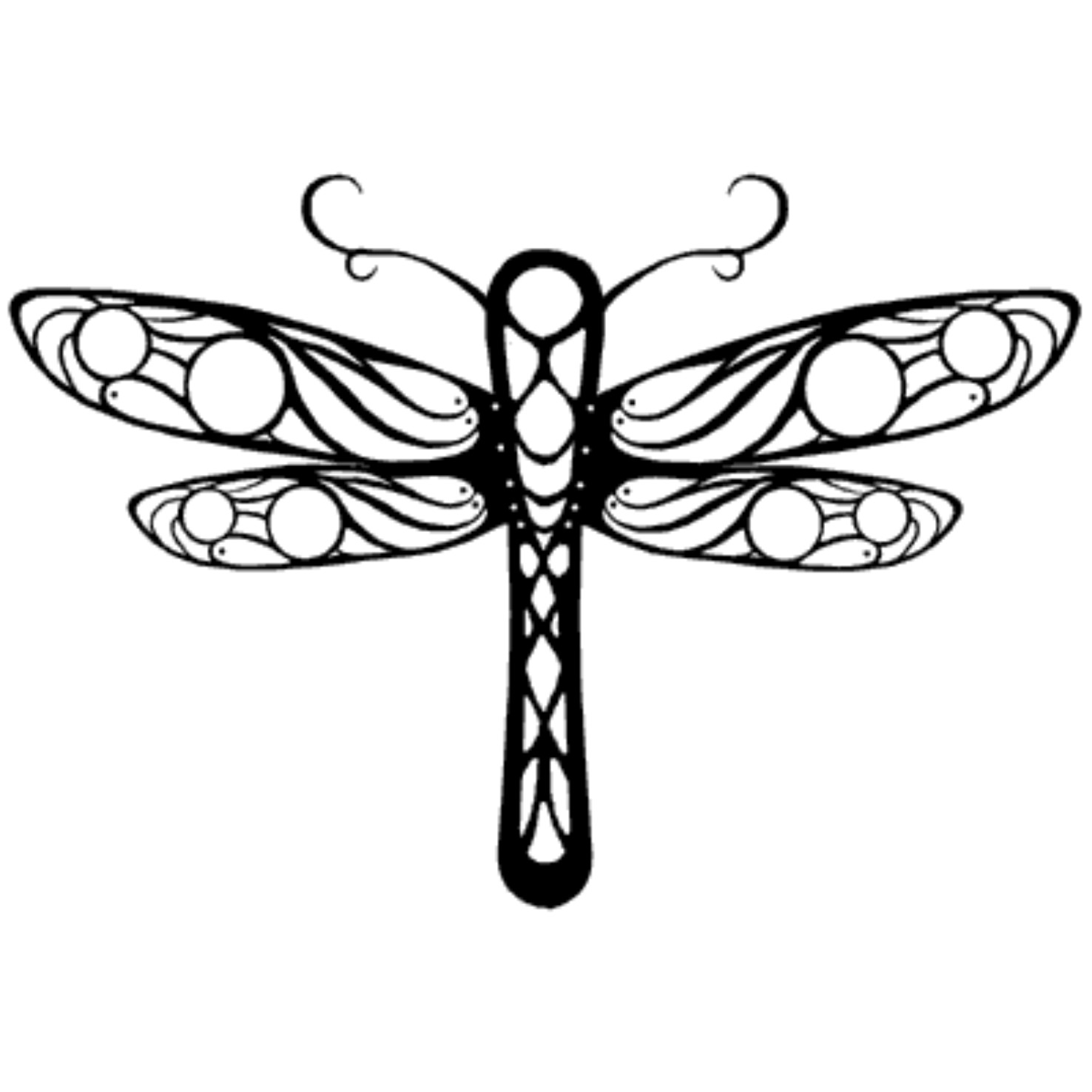 Cute Dragonfly Drawing at GetDrawings.com | Free for personal use ...