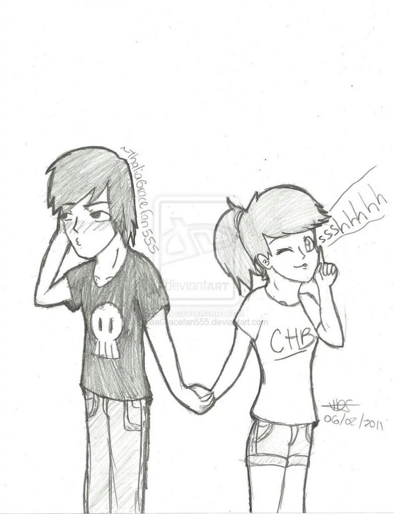 786x1024 Cute Drawing For Your Boyfriend Draw8info cute birthday ideas