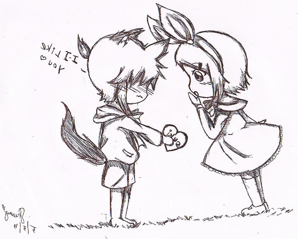 1008x800 Cute Drawings For Girlfriend Cute Drawings For Boyfriend