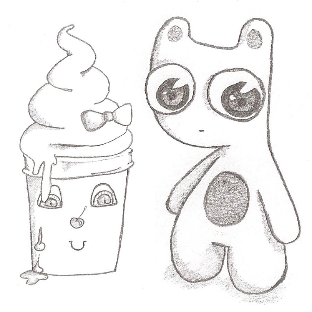 1024x1024 Cute Easy Pencil Drawings Cool And Easy Drawings Clipartsco