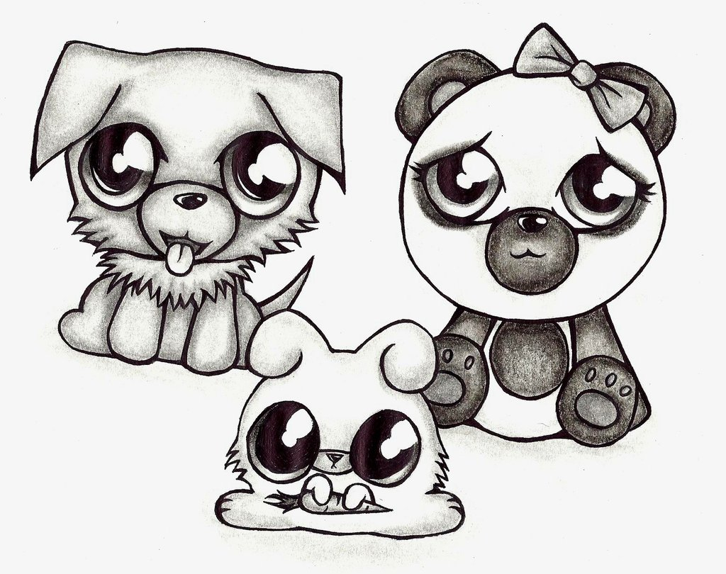 Cute Drawing Animals