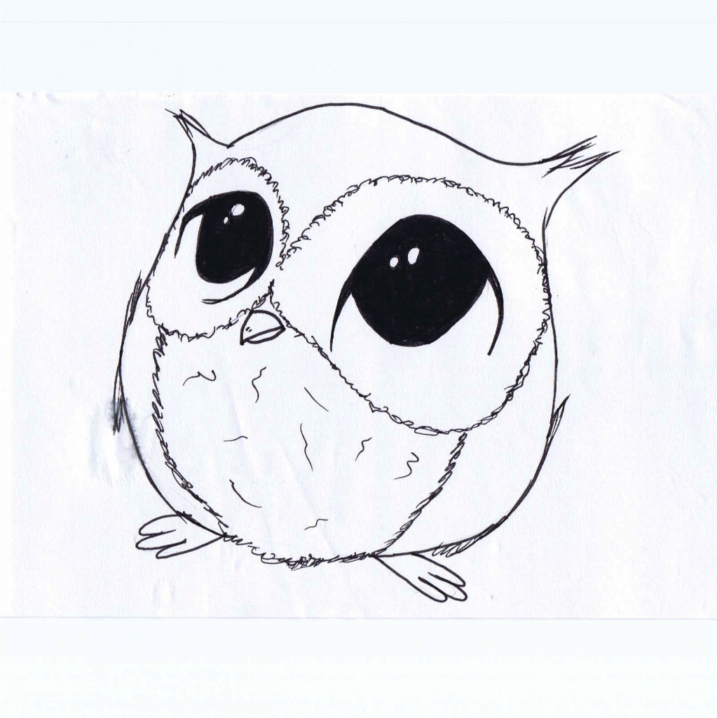 Cute drawing animals at free for for Small art drawings