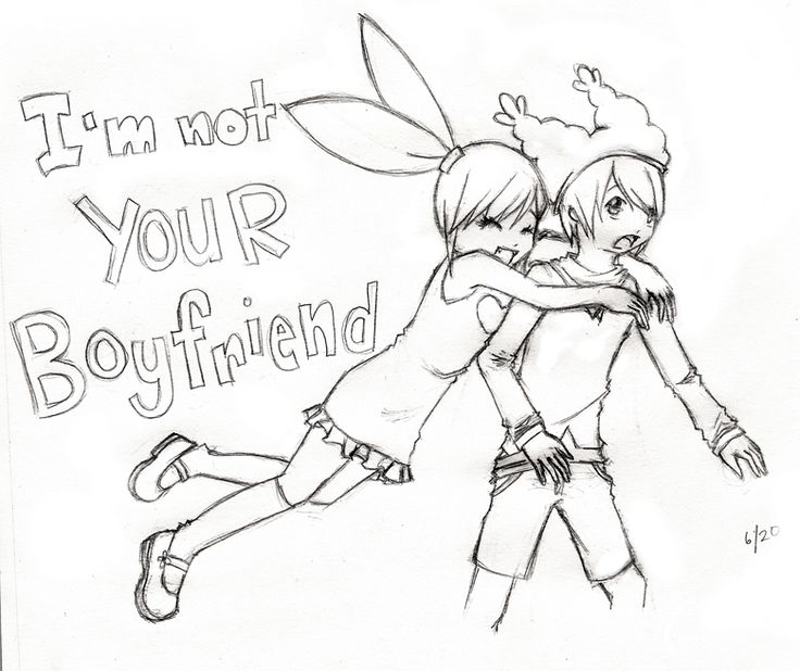 Cute Drawing For Your Boyfriend