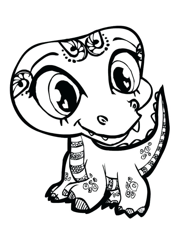 736x981 Cute Coloring Pages Fresh Cute Cat Coloring Pages In Coloring