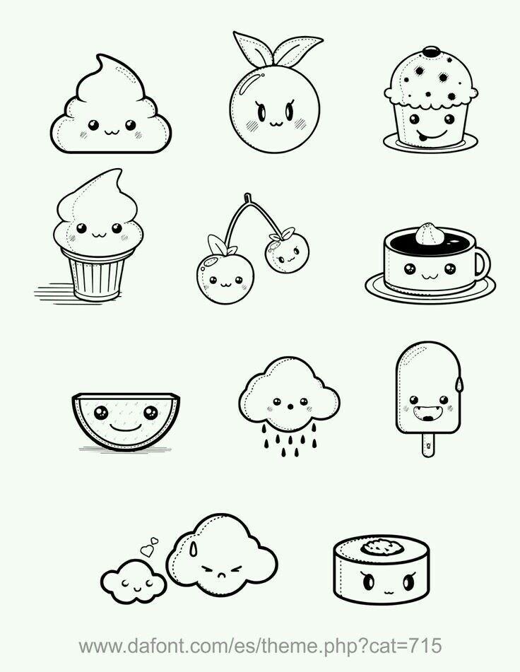 736x951 Cute Doodles