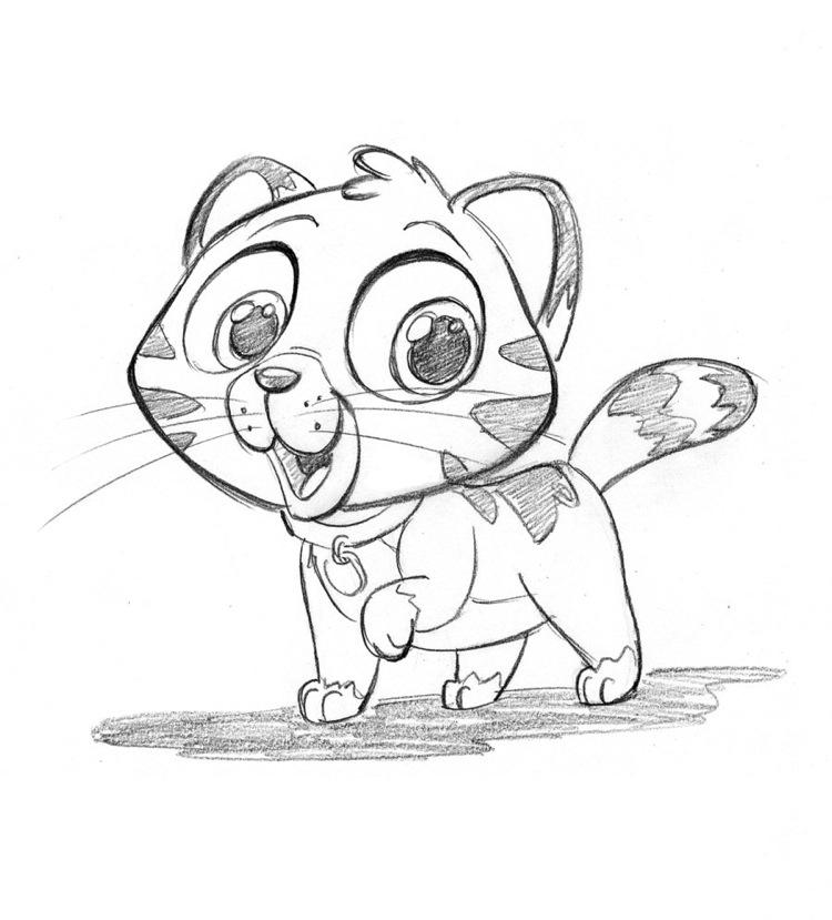 750x829 Cute Love Animal Drawings