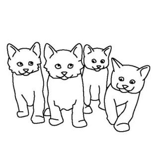 320x320 Tag For Cute Cat Drawings That Are Colored Kolorowanki Dla Doros