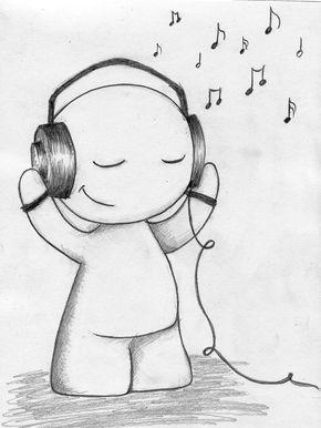 290x386 Music Drawings Love Music By Kasqlaa Traditional Art Drawings