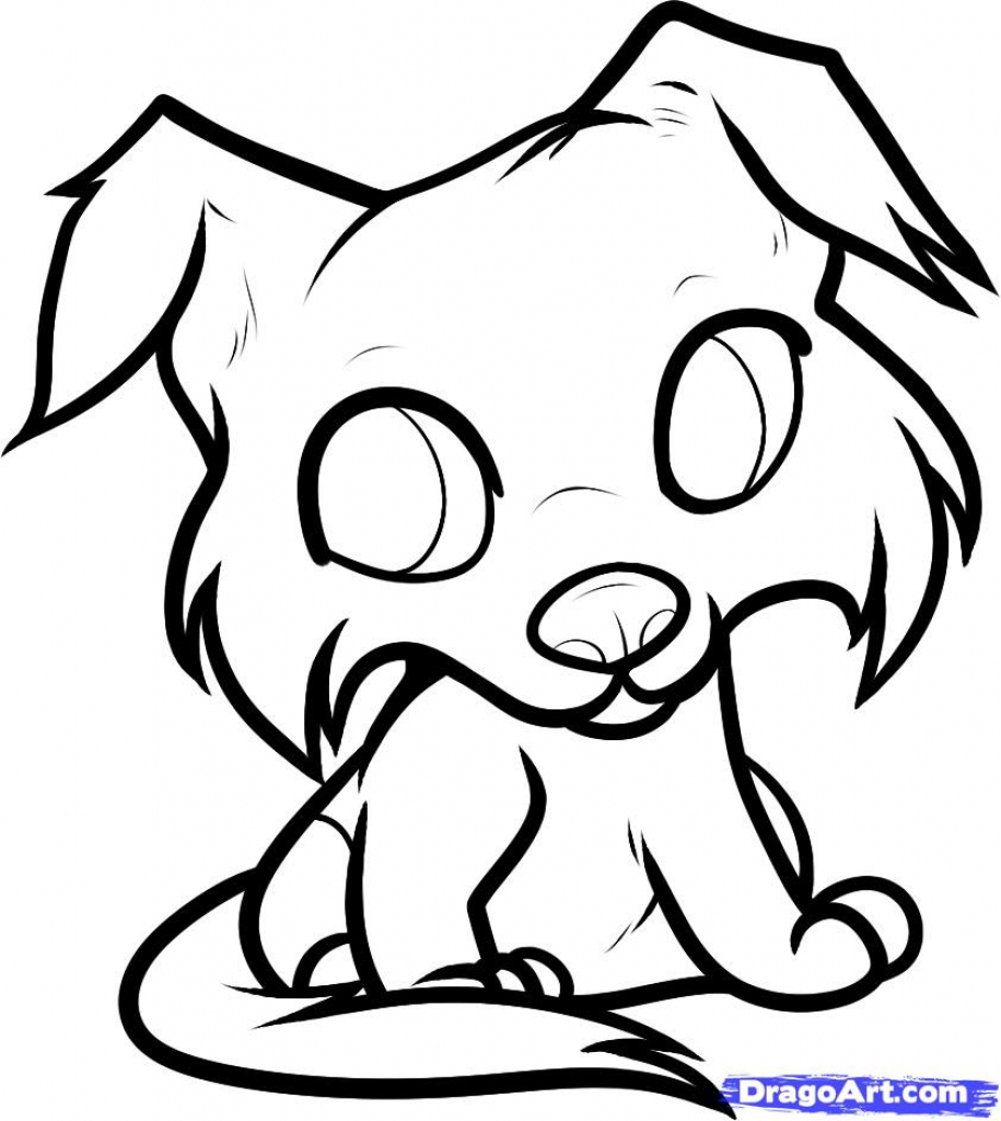 915x1024 Cartoon Puppy Drawing Cute Puppy Drawing Cartoon