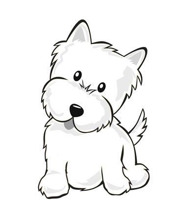 400x430 Drawn Puppy