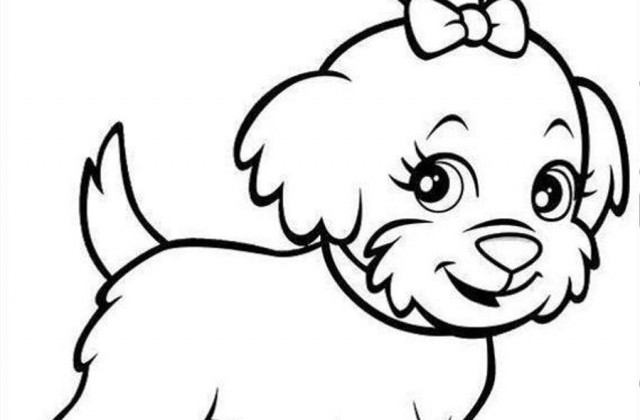 640x420 Tag For Cute Puppy Pictures To Draw How To Draw A Sad Cartoon