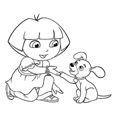 230x230 Top 30 Free Printable Puppy Coloring Pages Online