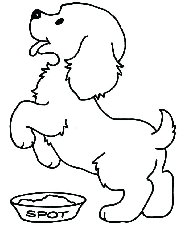 600x734 Coloring Pages Of Puppys Puppy Color Pages Pictures Of Puppies