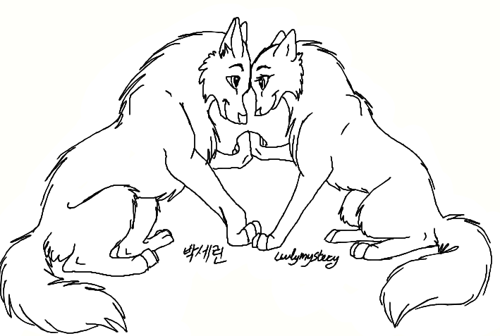 500x647 emo anime couples coloring pages cute girl drawing boy 709x477 free wolf couples lineart by luvlymystery on deviantart