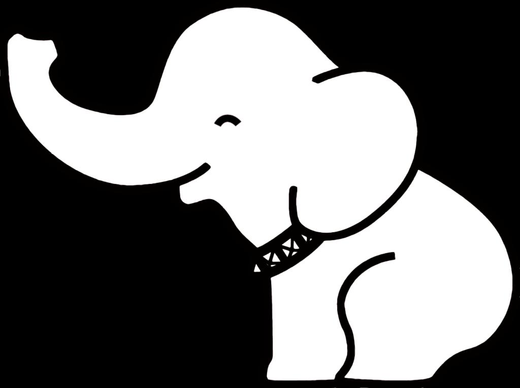 1024x764 Cute Elephant Drawing