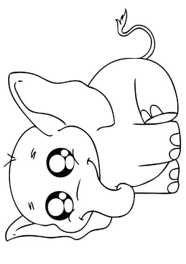 595x842 Coloring Pages Elephant Cortefocal.site