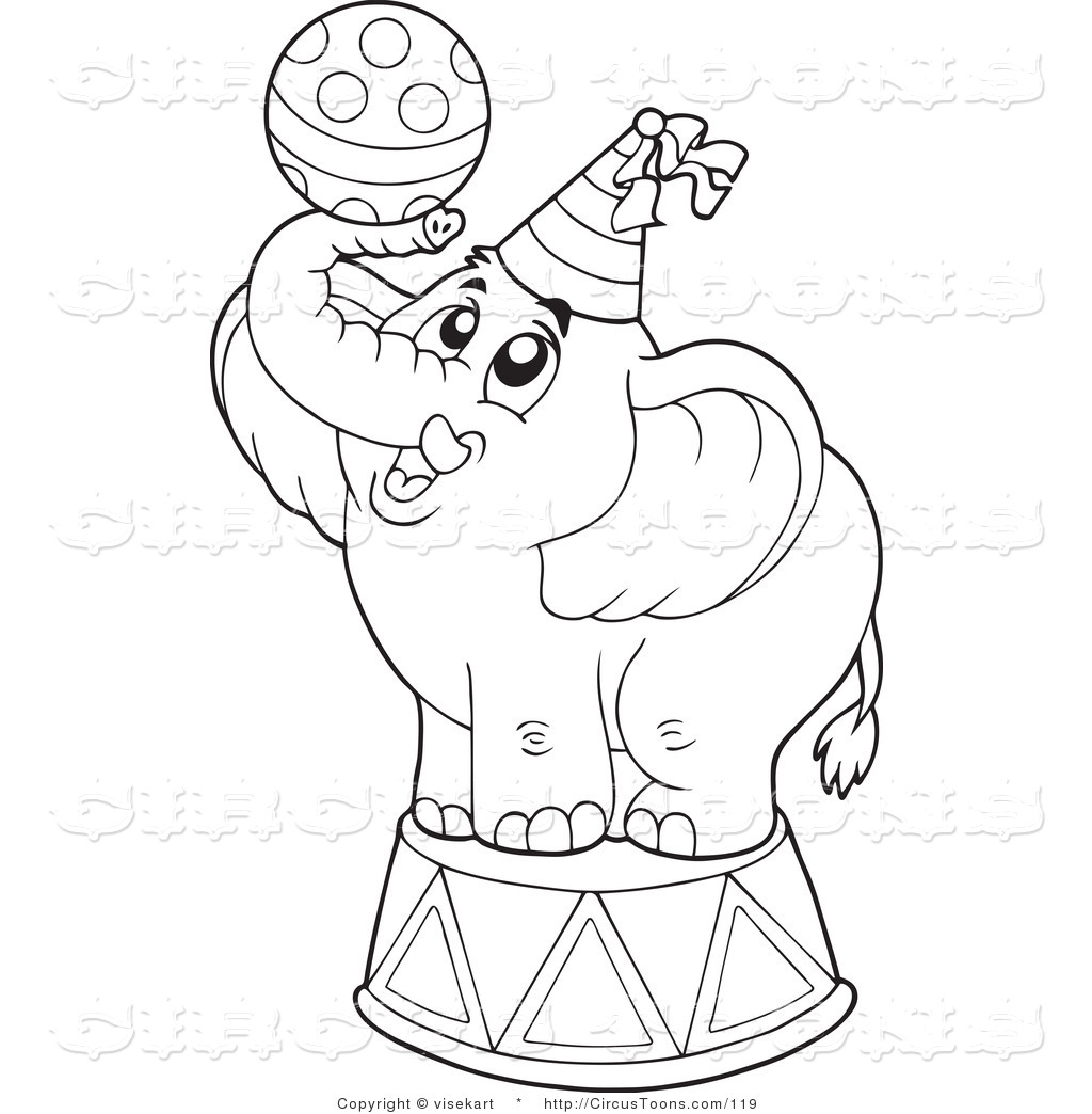1024x1044 Circus Clipart Of A Coloring Page Outline Of A Cute Circus