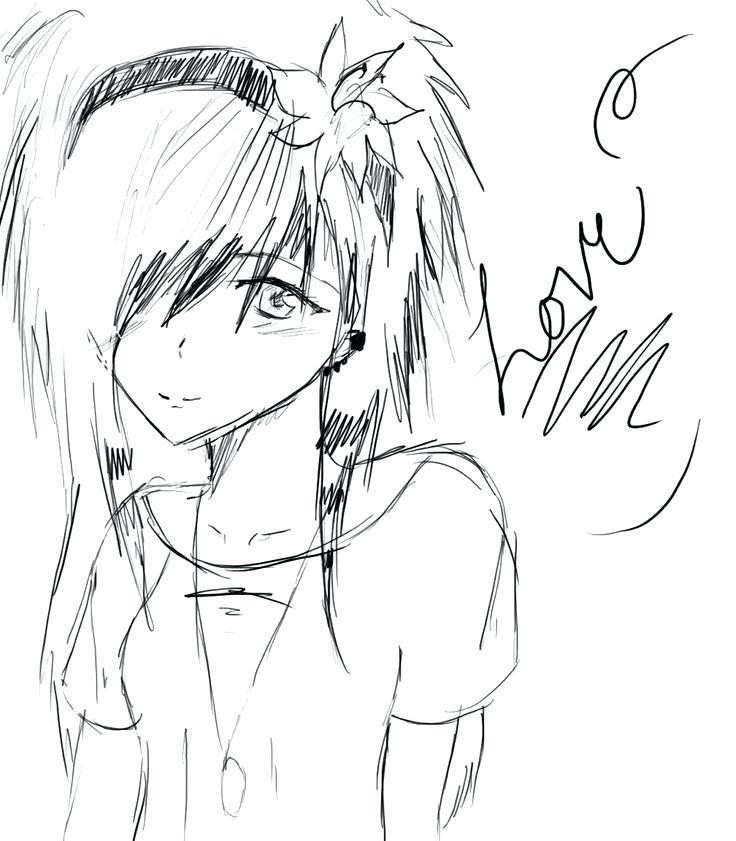 736x841 Emo Girl Coloring Pages Emo Anime Girls Coloring Pages Emo Anime
