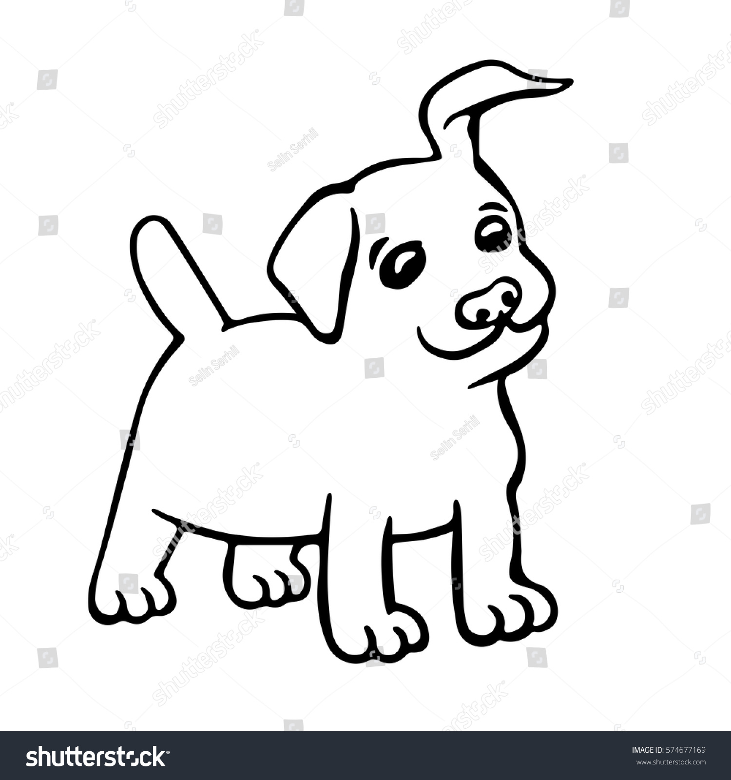 1500x1600 Drawing Cartoon Puppy Drawing With Cute Cartoon Puppy Drawing