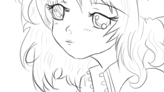 570x320 Drawing Cute Anime How To Draw A Cute Anime Face, Step By Step