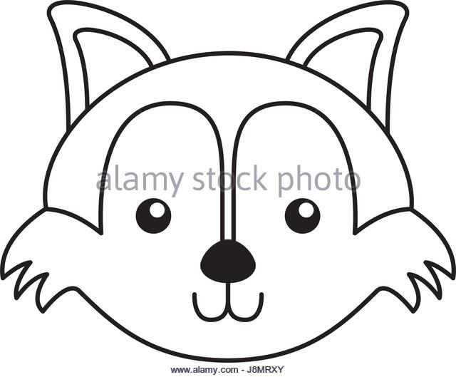 640x529 Fox Face Stock Vector Images