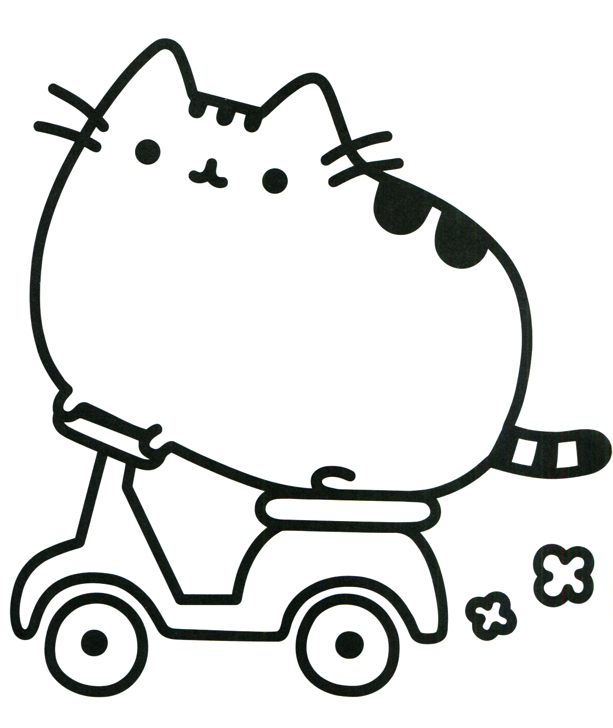 cute fat cat drawing at getdrawings com free for personal use cute