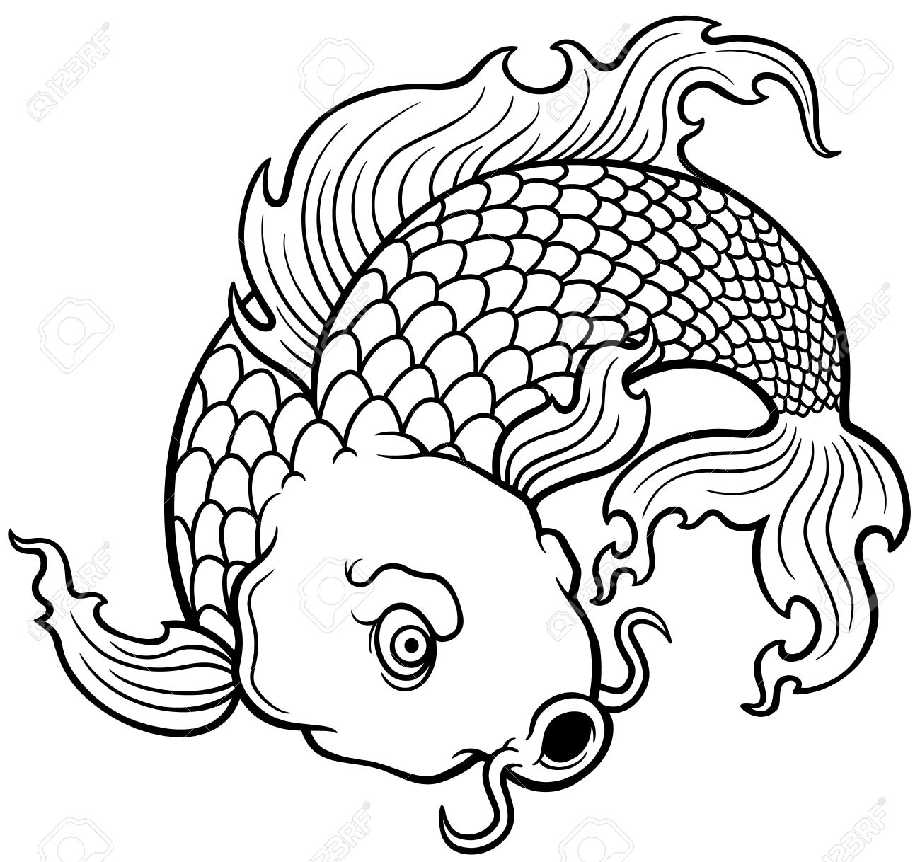 Cute Fish Drawing at GetDrawings.com | Free for personal use Cute ...