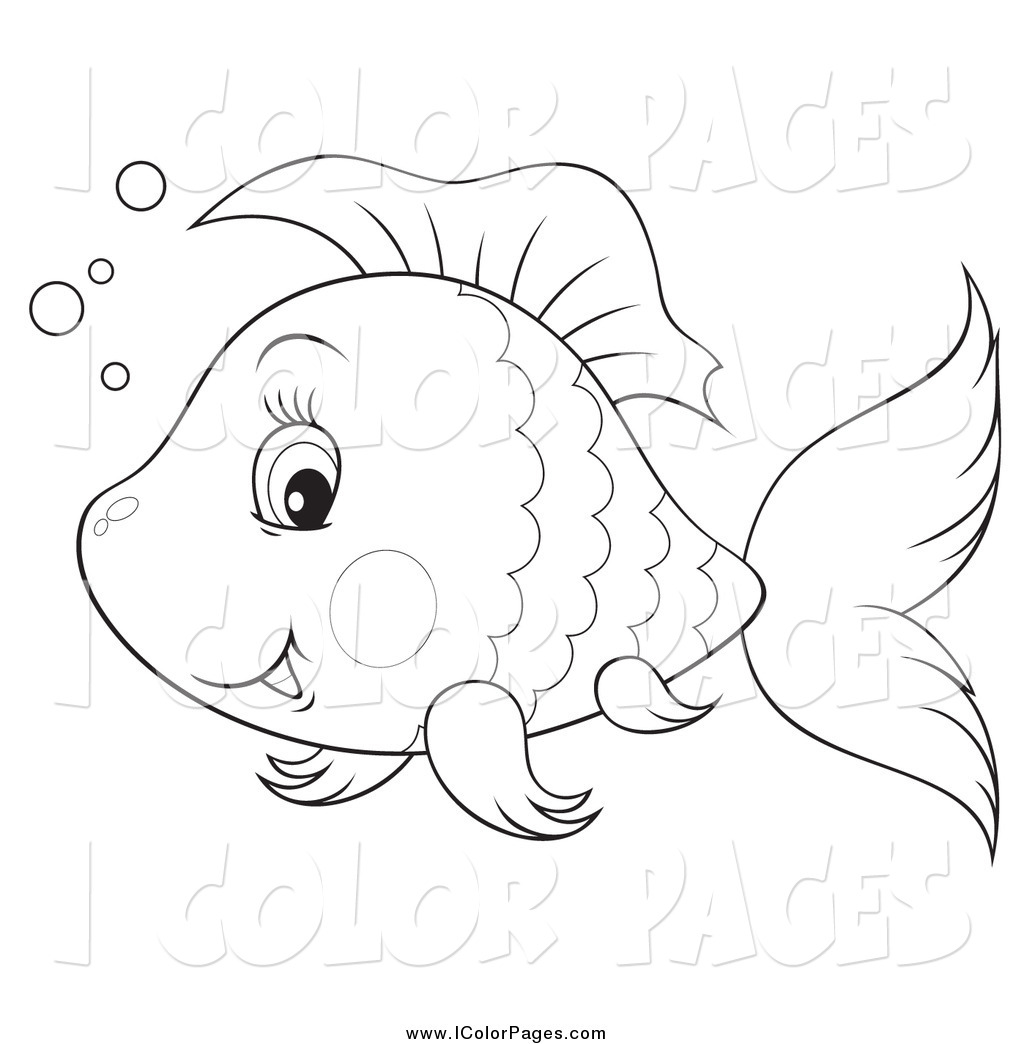 Cute Fish Drawing At GetDrawings