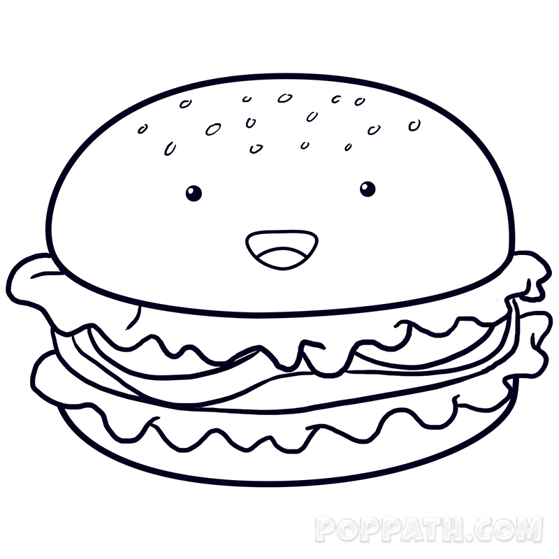 Cute Food Drawing At Getdrawings Com Free For Personal Use Cute