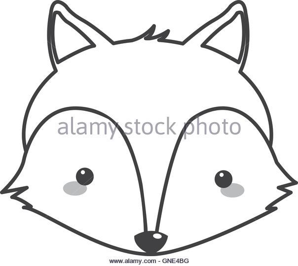604x540 Cute Red Fox Cartoon Flat Stock Photos Amp Cute Red Fox Cartoon Flat