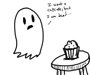 300x250 Cute Slime Blob Greeting Cute Ghost