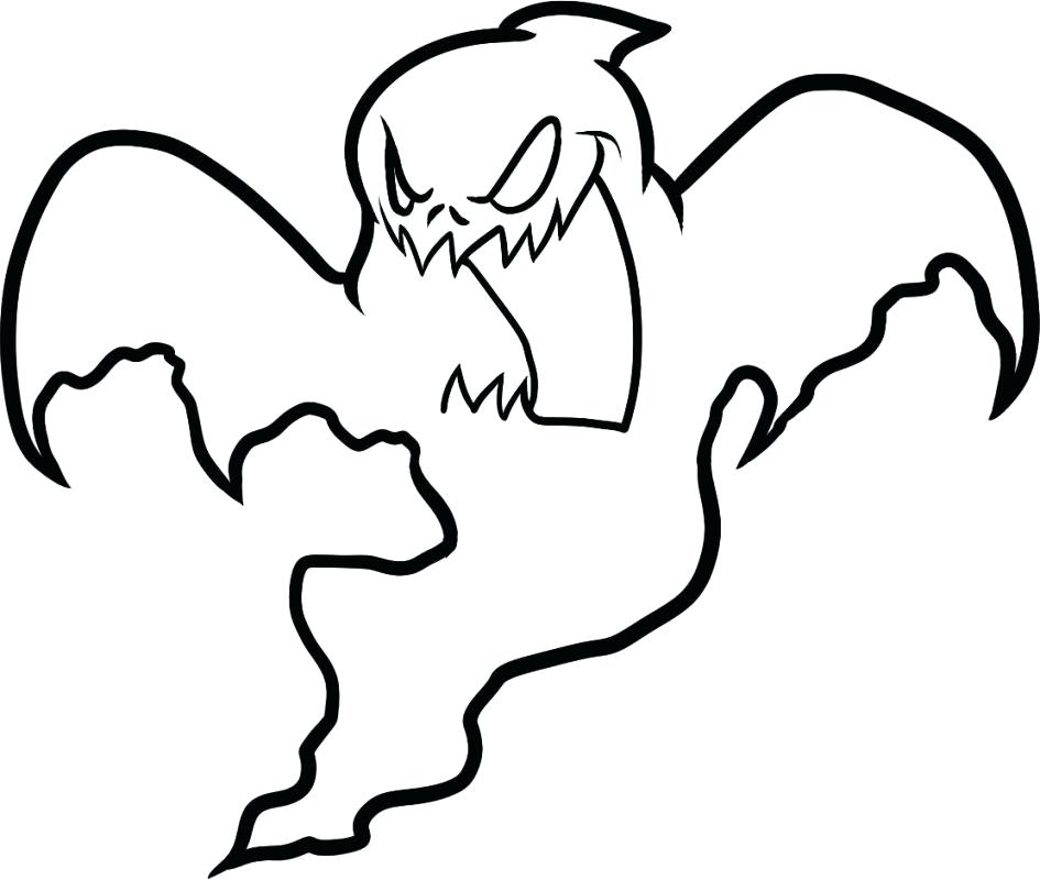 945x800 Ghost Coloring Sheets Coloring Pages Ghost Coloring Pages For Kids