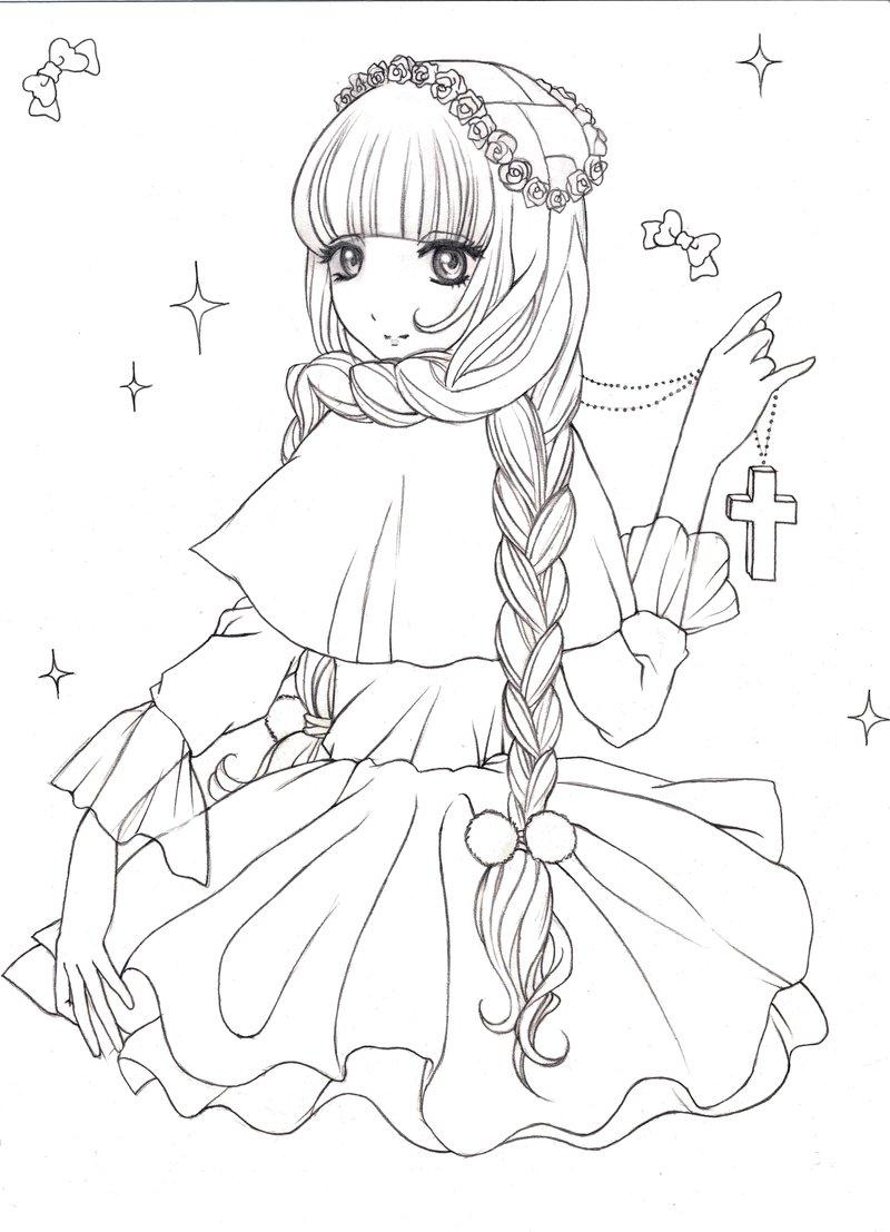 800x1107 Cute Girl By Blumye