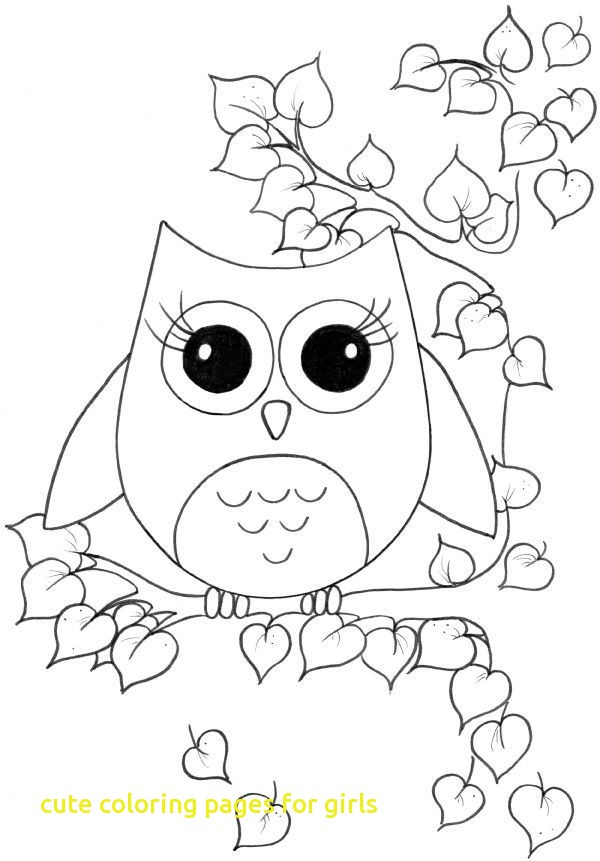 600x861 Cute Coloring Pages For Girls With Cute Girl Coloring Pages